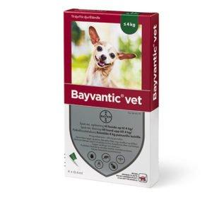 Bayvantic Vet. hund 1,5 til 4 kg. 4x0,4ml