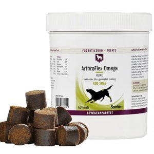 Scanvet ArthroFlex Omega 60 Treat 2 x 60 stk. godbidder til stor hund