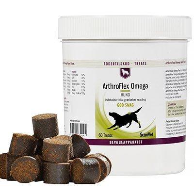 Scanvet ArthroFlex Omega 60 Treat 2 x 60 stk. godbidder til stor hund