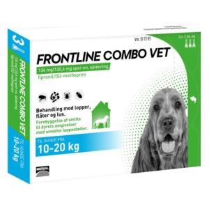 Frontline Combo Vet Hund 10 20 kg 3x1,34 ml