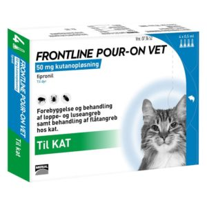 FRONTLINE POUR ON VET Til Kat 4 x 0,5ml