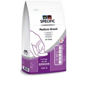 SPECIFIC CGD M Senior Medium Breed 7,5 kg. Mellemstore Racer
