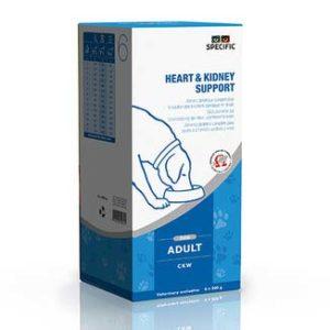 SPECIFIC CKW Heart & Kidney Support 6 x 300 g Hjerte problemer, Lever problemer, Nyreproblemer, Urinvejssten