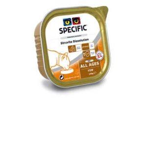 4 pakker SPECIFIC FSW Struvite Dissolution 7 x 100g Urinvejssten