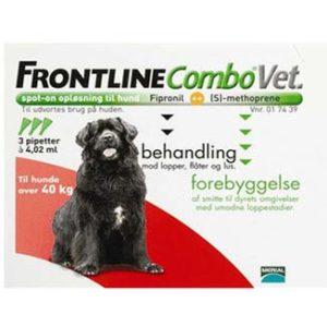 Frontline Combo Vet Hund over 45 kg Frontline, Loppemidler hund
