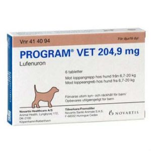 Program Vet hund 6,7 – 20 kg.