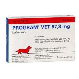Program Vet hund indtil 6,7 kg.