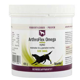 Scanvet ArthroFlex Omega hund pulver 2 x 400g