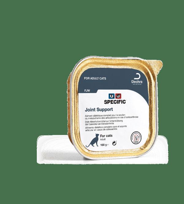 SPECIFIC FJW Joint Support 100 g. vådfoder til katte 4 pakker med 7 stk.