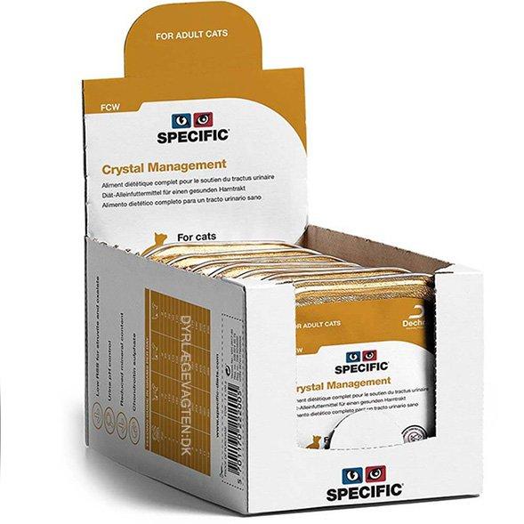 Specific FCW Crystal Prevention 100 g. vådfoder til katte 4 pakker med 7 stk.