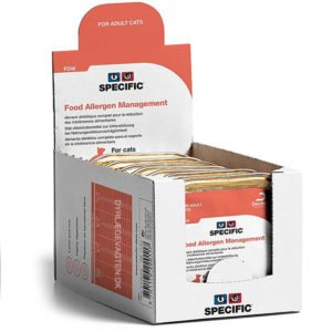 SPECIFIC FDW Food Allergy Management 100g. vådfoder til katte 24 pakker med 7 stk.
