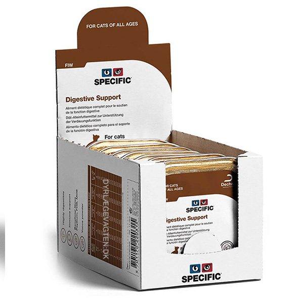 SPECIFIC FIW Digestive Support 100 g. vådfoder til katte 4 pakker med 7 stk.