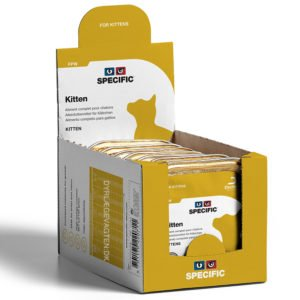 SPECIFIC FPW Kitten 100g. vådfoder til killinger 4 pakker med 7 stk.