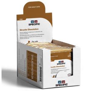 SPECIFIC FSW Struvite Dissolution 100g. Kattefoder mod struvitter i urinen, 4 pakke med 7 stk
