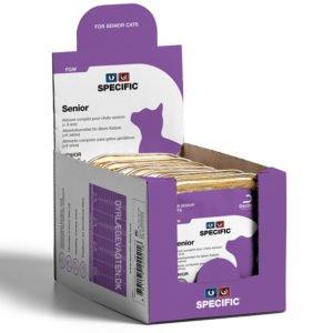 SPECIFIC FGW Senior All Breeds 100g. vådfoder til katte 24 pakker med 7 stk.