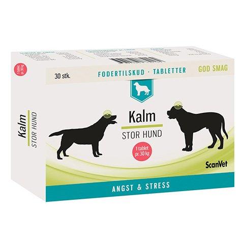 Kalm tabletter 2x30 stk. til stor hund